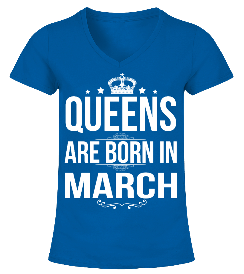 Queens are born in March Shirts