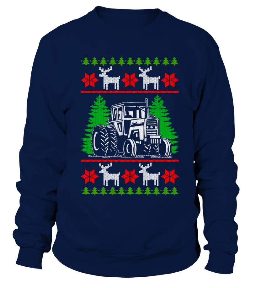 Farmer Tractor Ugly Christmas 3