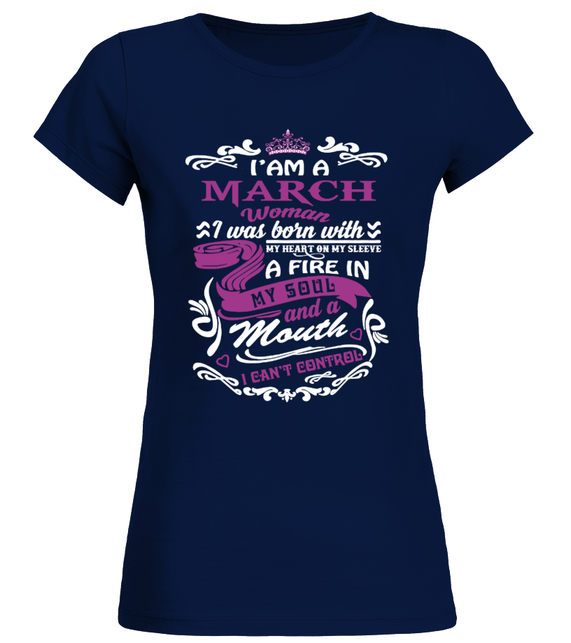 I Am A March Woman