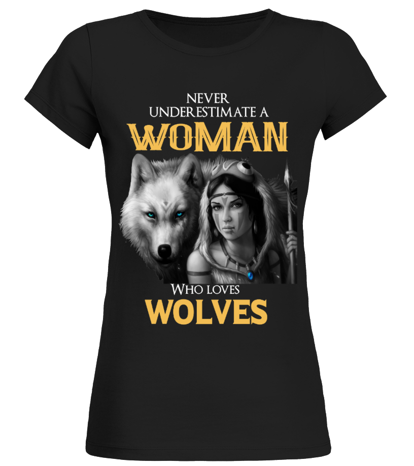 WOLVES AND WOMAN
