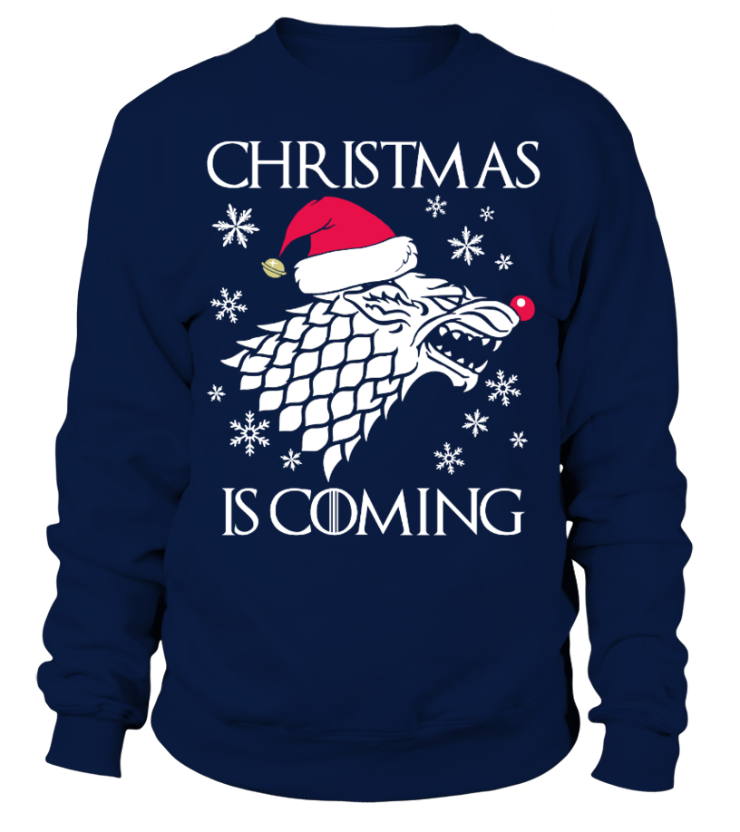 Christmas is Coming - Christmas Sweater
