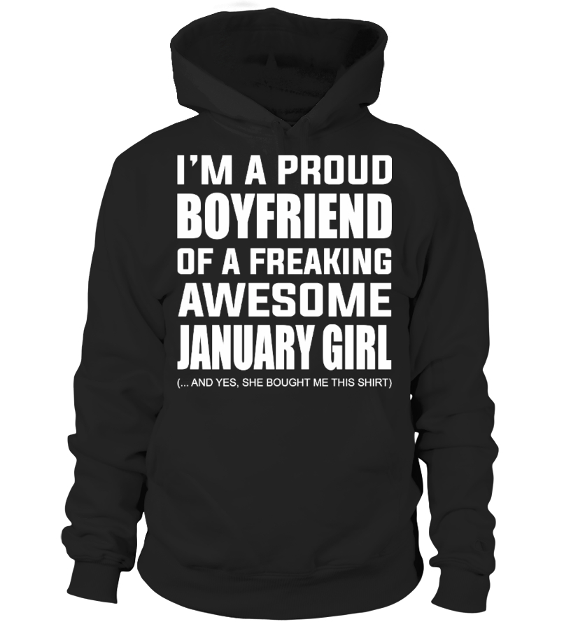 AWESOME JANUARY GIRL