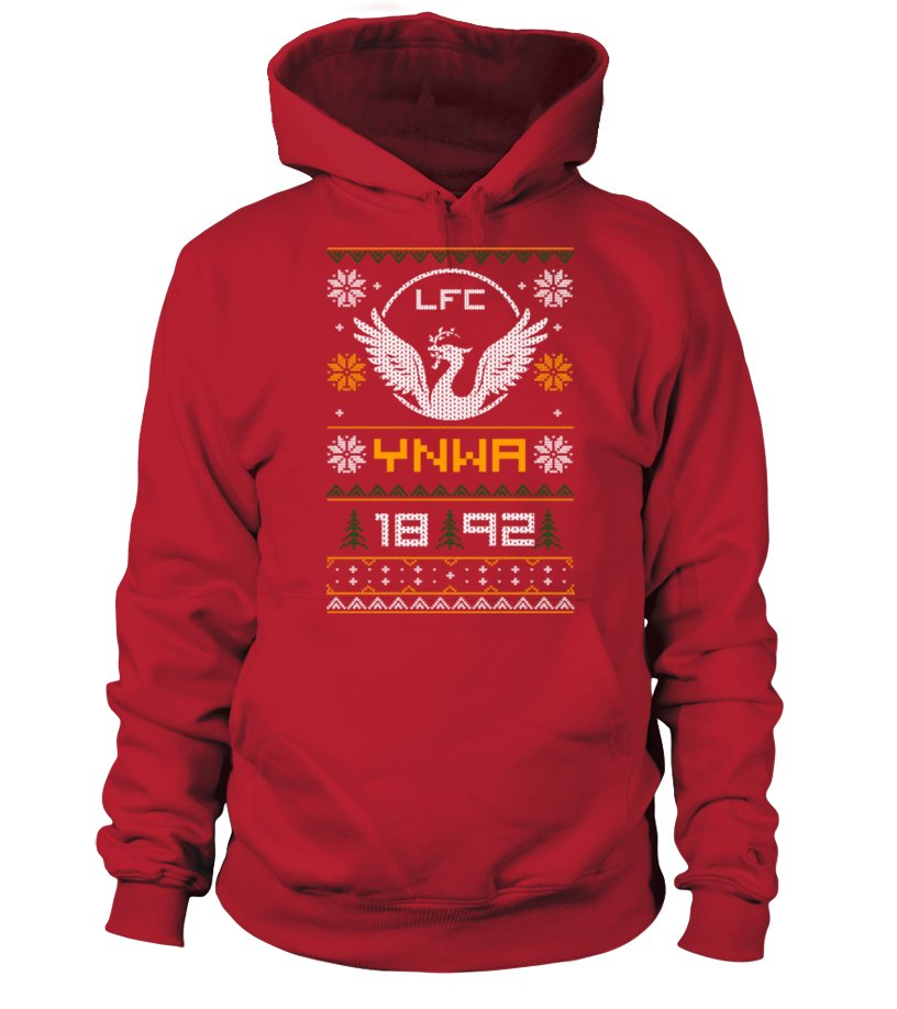 Funny Christmas - Limited Edition 2016 Red Christmas Hoodie Unisex