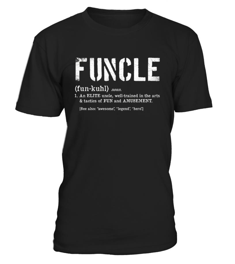 Amazing Vet - Funcle Definition Tshirt for Veteran Round neck T-Shirt Unisex