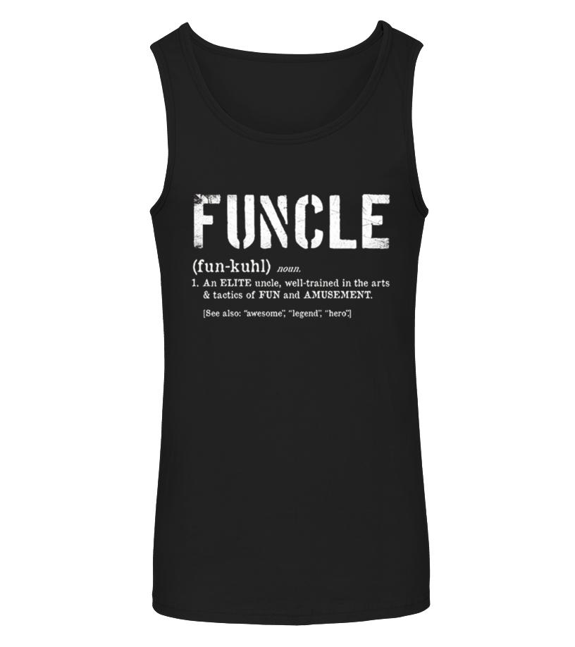 Amazing Vet - Funcle Definition Tshirt for Veteran Tanktop Unisex