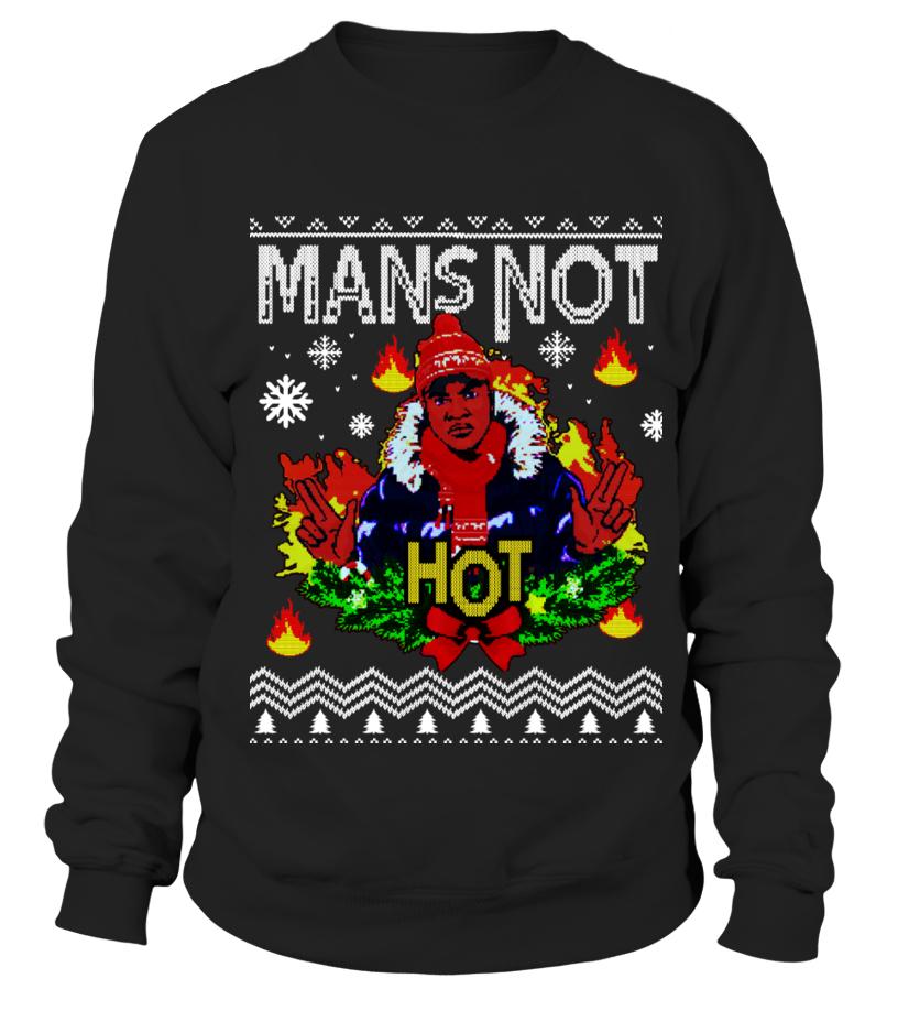 Mans Not Hot Christmas Jumper