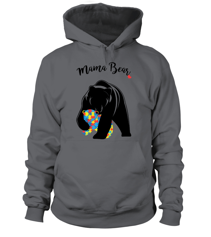 Amazing Mother T-Shirt - Autism Awareness Mom - Mama Bear Hoodie Unisex