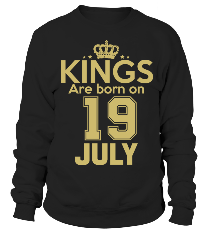 KINGS ARE BORN ON 19 JULY