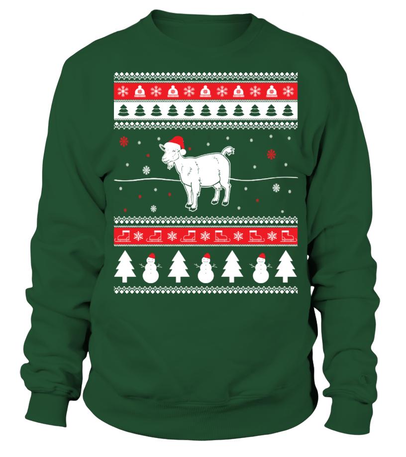 Gifts Christmas - Goat Ugly Christmas Sweater Sweatshirt Unisex