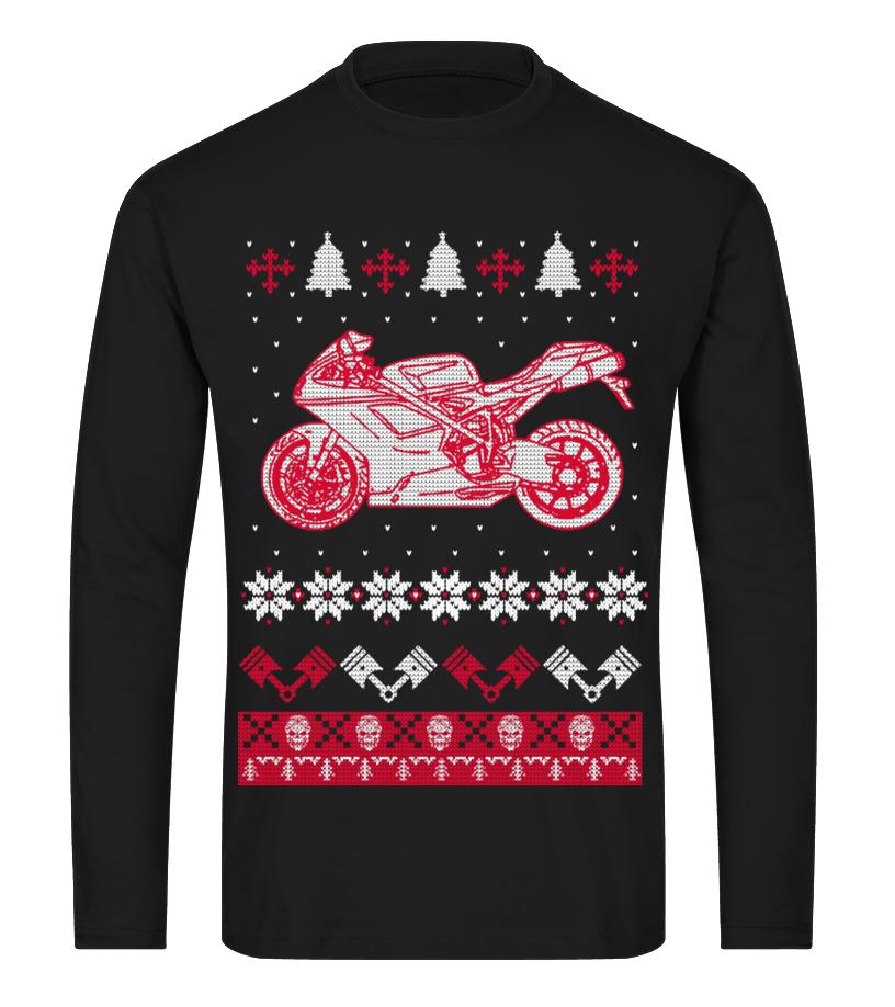 Funny Christmas - For Christmas - Monster Long sleeved T-shirt Unisex