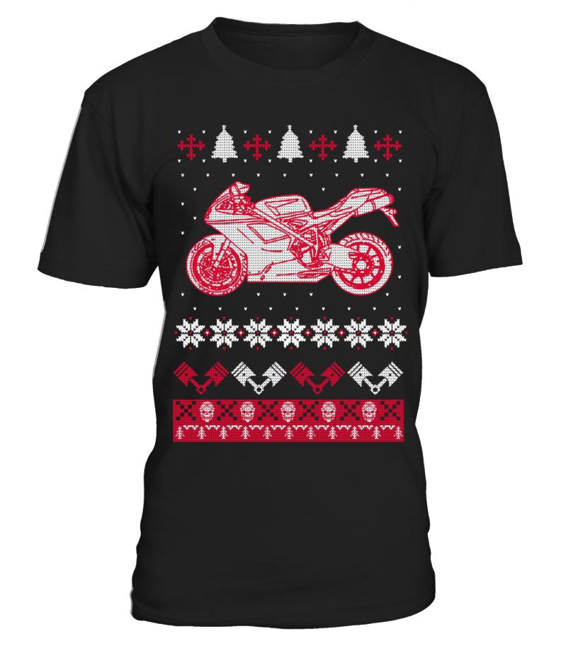 Funny Christmas - For Christmas - Monster Round neck T-Shirt Unisex