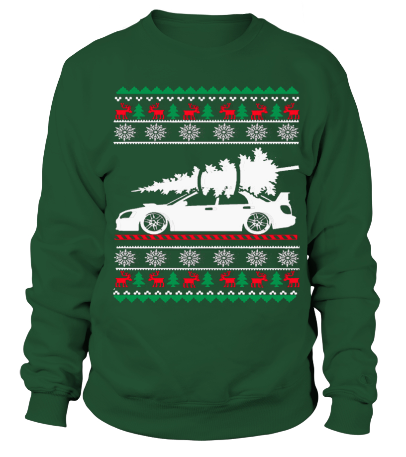 Best Christmas - Ugly Christmas Sweater - CAR CHRISTMAS Sweatshirt Unisex