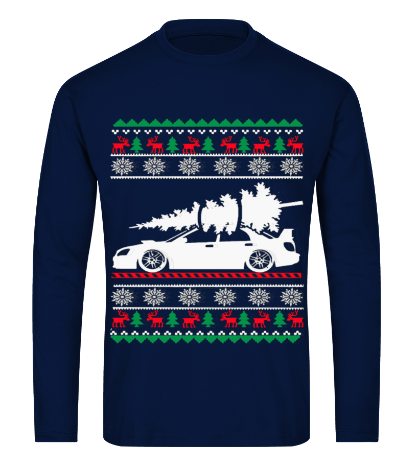Best Christmas - Ugly Christmas Sweater - CAR CHRISTMAS Long sleeved T-shirt Unisex