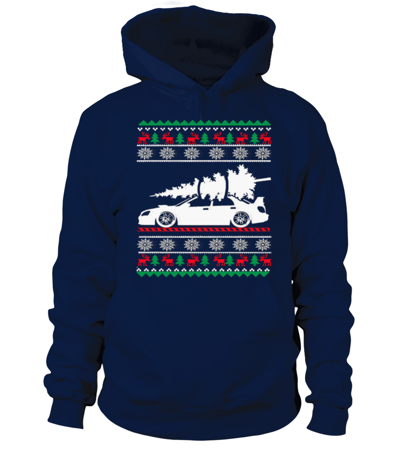Best Christmas - Ugly Christmas Sweater - CAR CHRISTMAS Hoodie Unisex