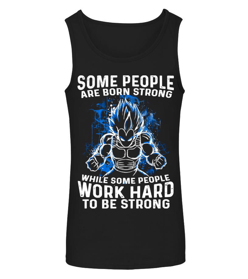 Vegeta Work Hard To Be Strong  Shirt