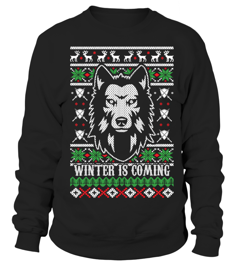 Winter Is Coming Christmas Sweater