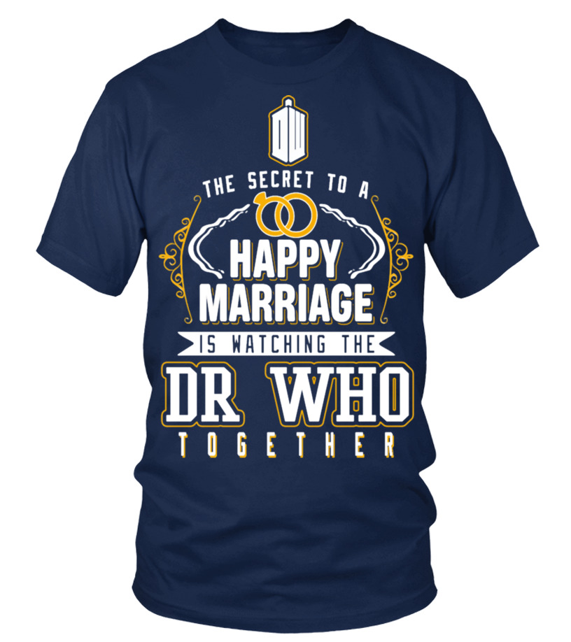 DR WHO -  HAPPY MARRIAGE IS WATCHING IT