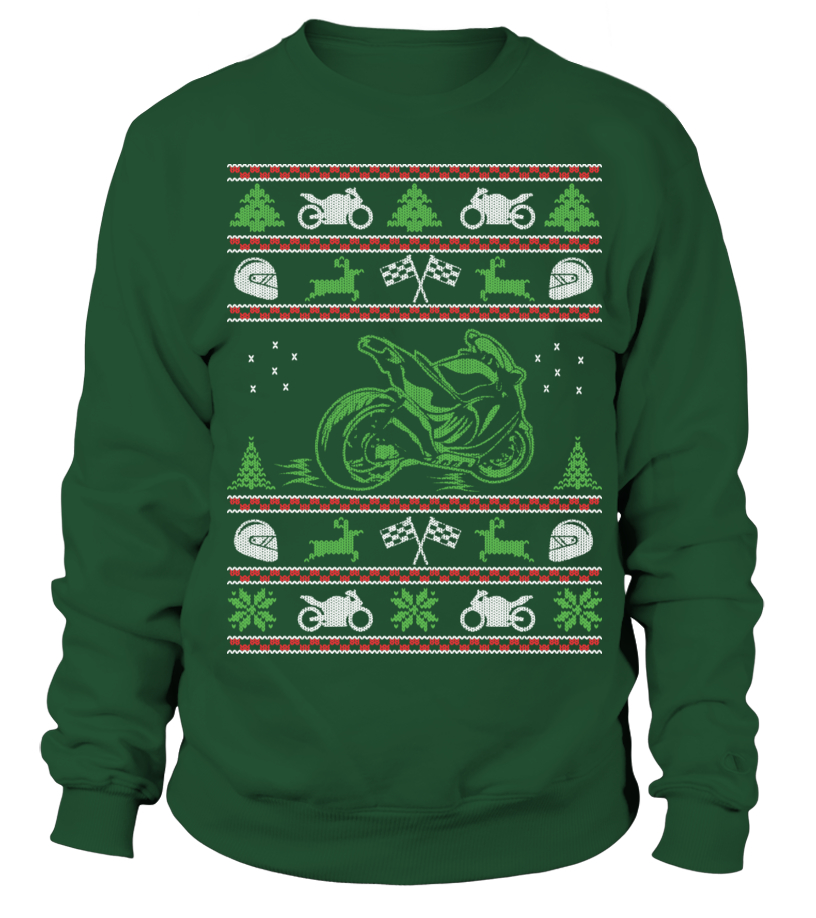 Superbike Ugly Christmas sweater