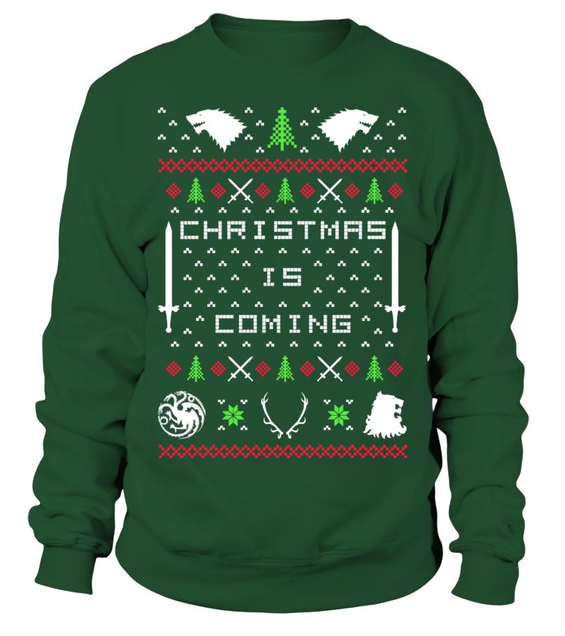 Christmas is Coming - Christmas Sweater