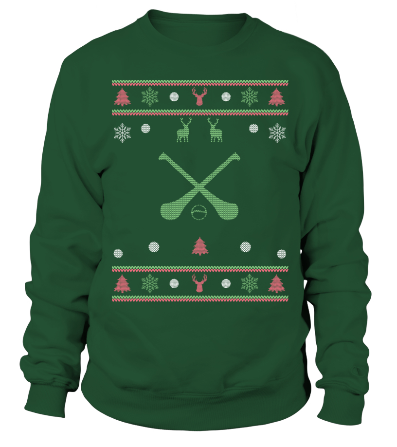 HURLING CHRISTMAS JUMPER