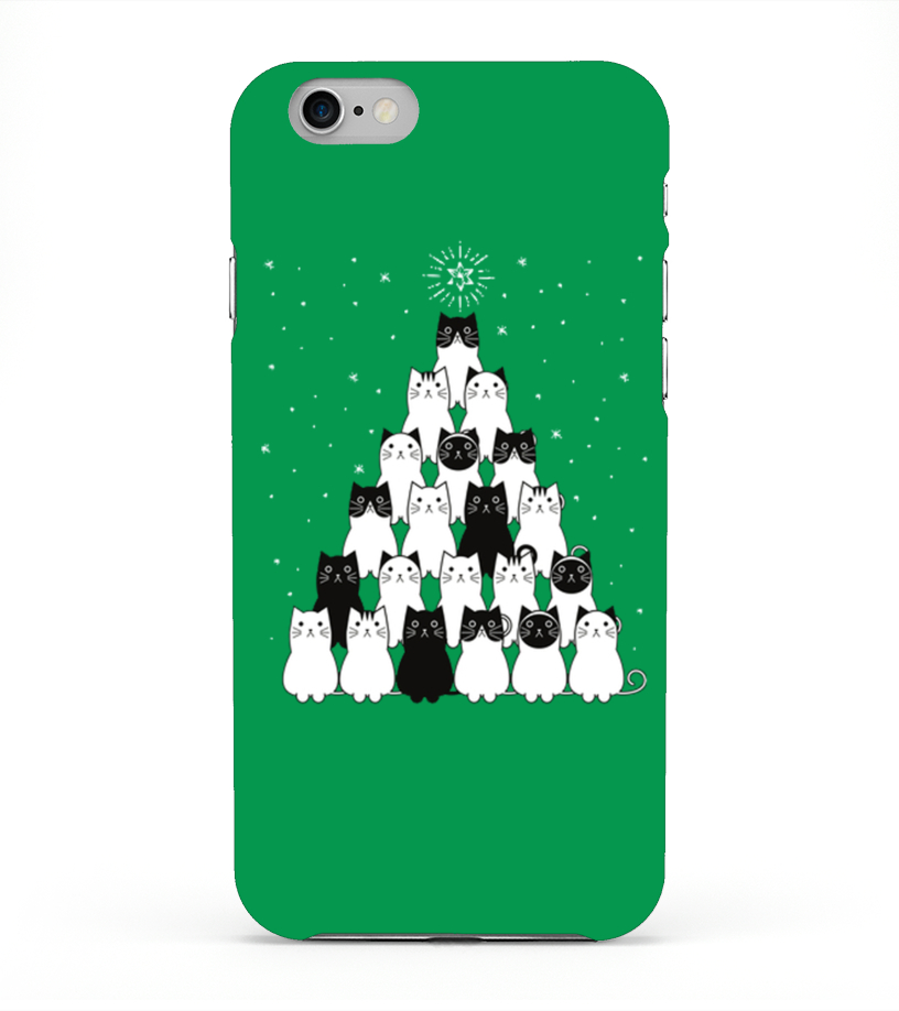 Meowy  Catmas Tree - PhoneCase