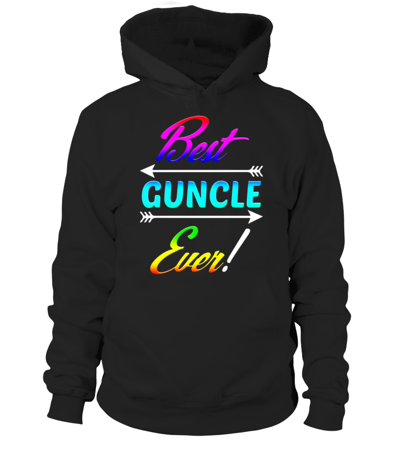 Funny Best Guncle Ever T-shirt Uncle Gay LGBT BI Meme Quote - Limited Edition