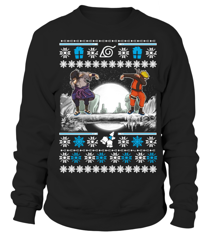 Naruto-Sasuke DAB Ugly Christmas Sweater
