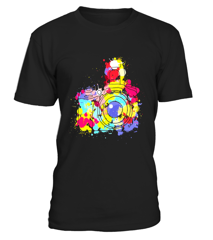 Photographer tShirt colorful Photography Gift t Shirt