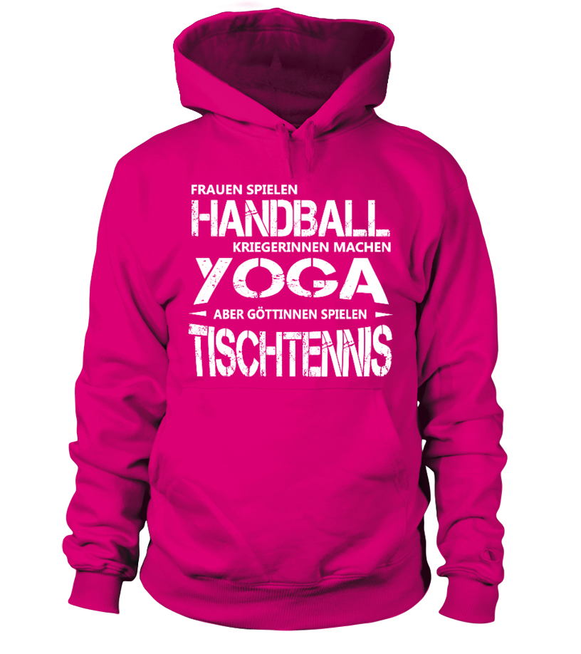 Tischtennis Shirt - Göttinnen spielen Tischtennis! Geschenkidee