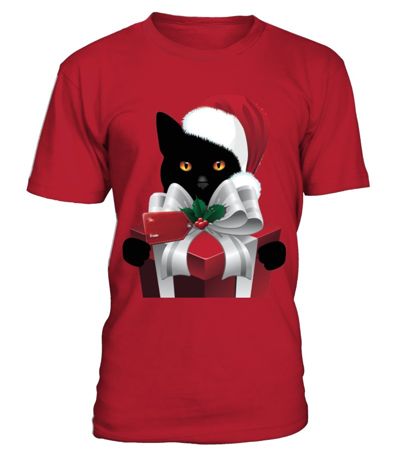 Gifts Christmas - A GIFT FROM YOUR CHRISTMAS CAT Round neck T-Shirt Unisex