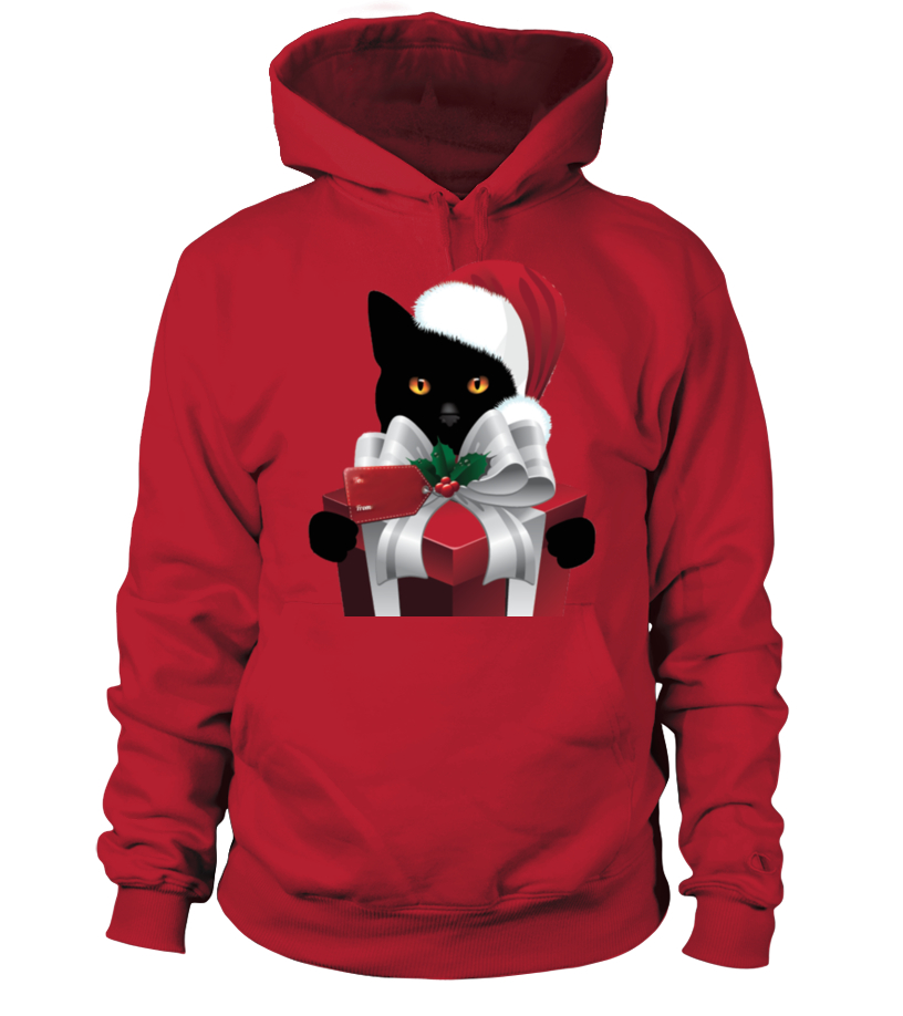 Gifts Christmas - A GIFT FROM YOUR CHRISTMAS CAT Hoodie Unisex