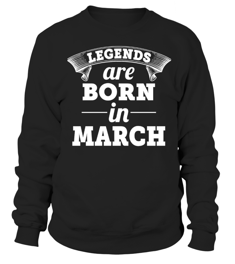 Legends are born in March!