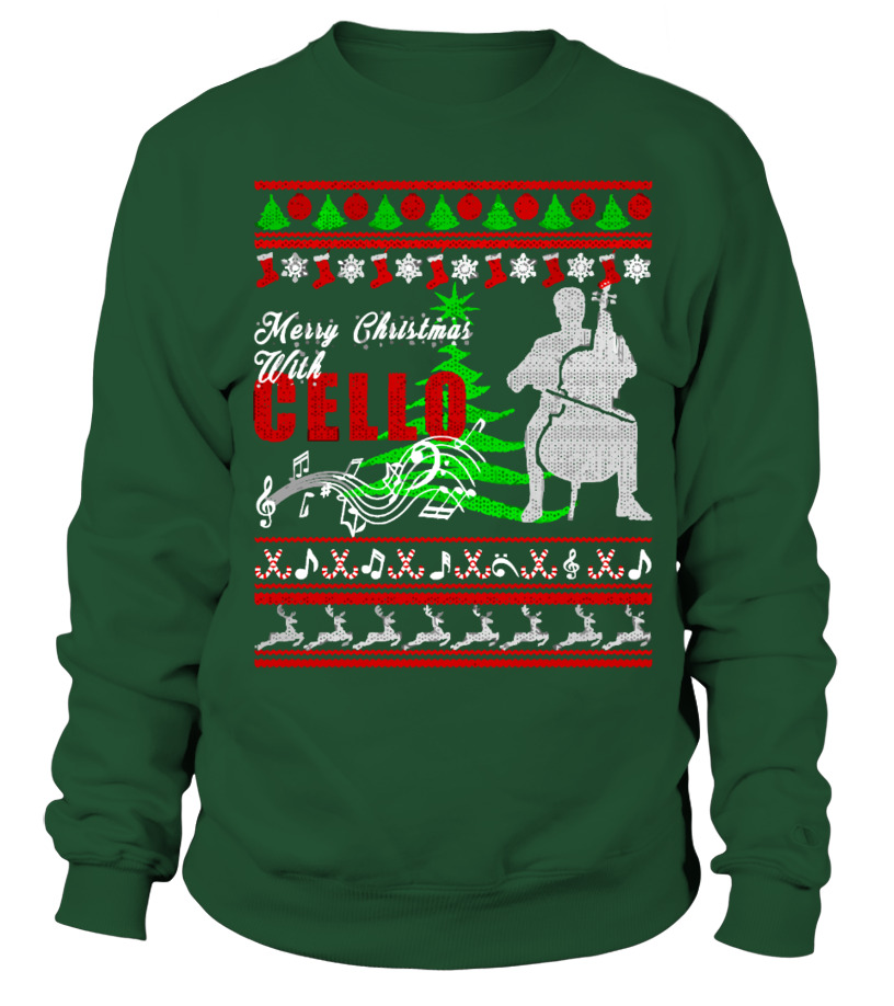 Cello Shirt - Cello Ugly Christmas