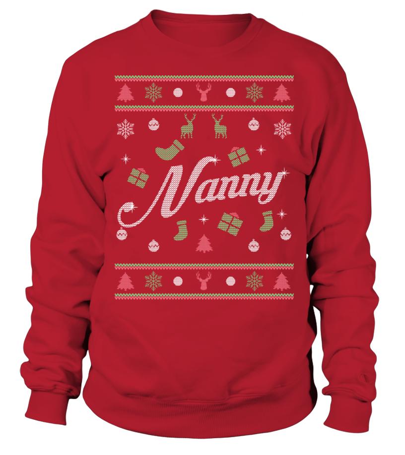 NANNY CHRISTMAS JUMPER