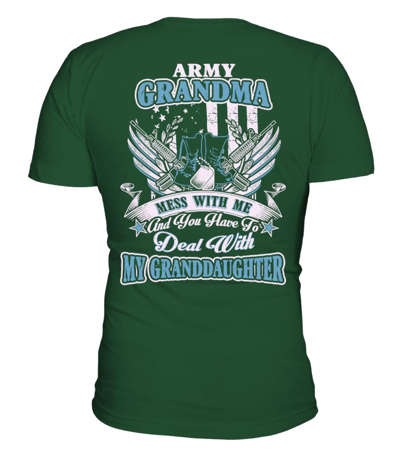 Army Grandma - Army Nana - Army Grandmother Shirt