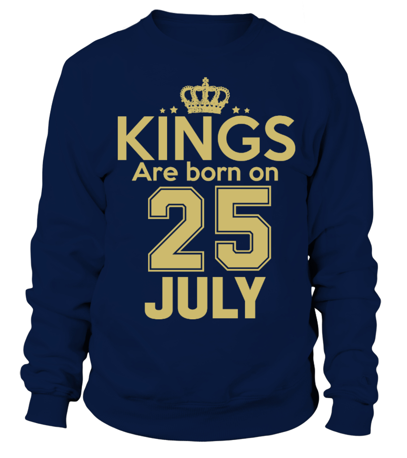 KINGS ARE BORN ON 25 JULY