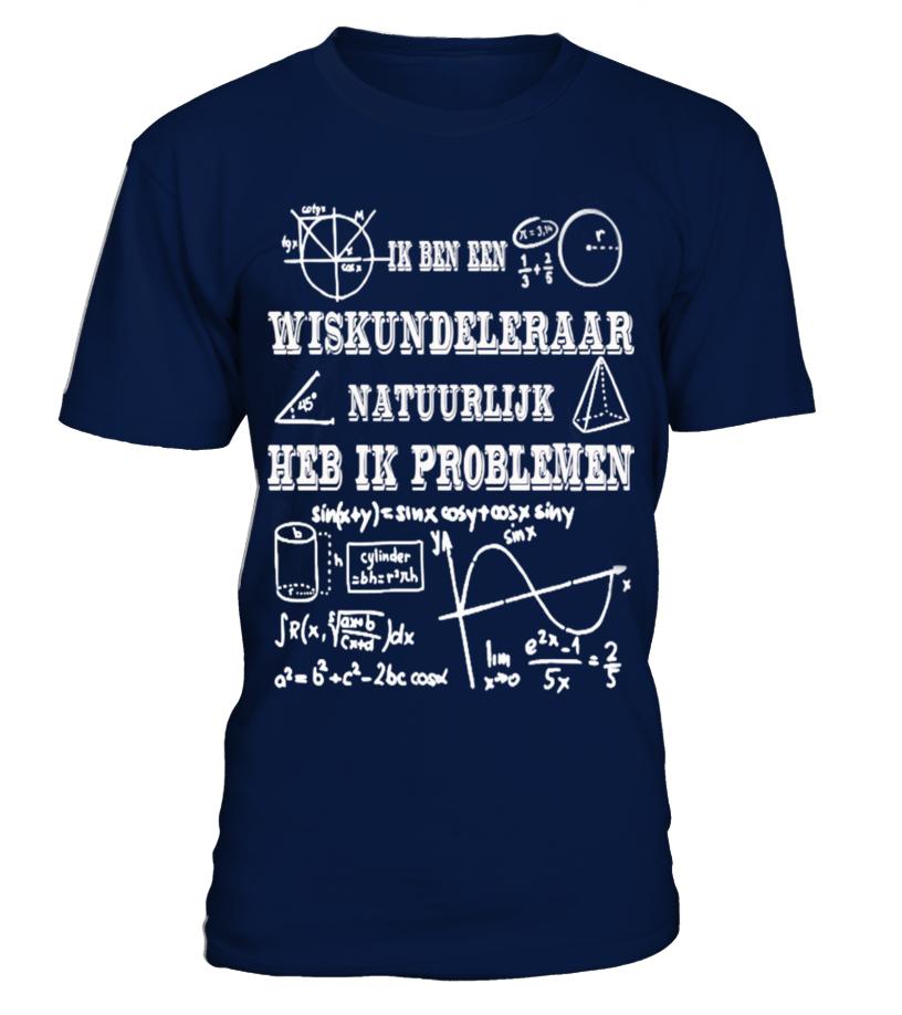 Ik ben een wiskundeleraar