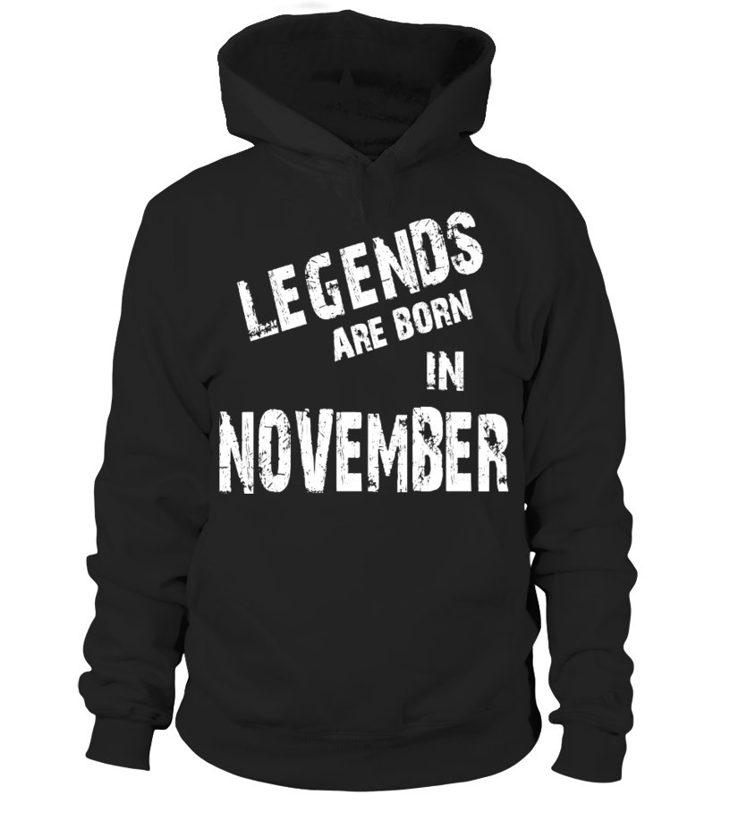 NOVEMBER - LEGENDS ARE BORN