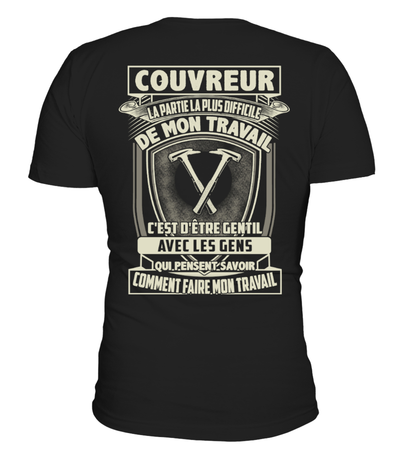 COUVREUR, Couvreur T-shirt