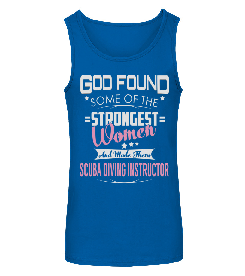 Gifts Scuba Diving - Scuba Diving Instructor GOD FOUND Tanktop Unisex