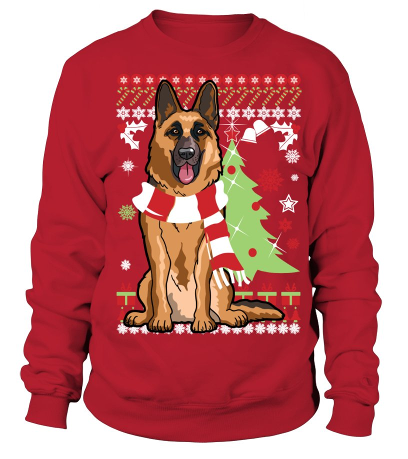 German Shepherd Sweatshirt!Perfect Christmas gift!