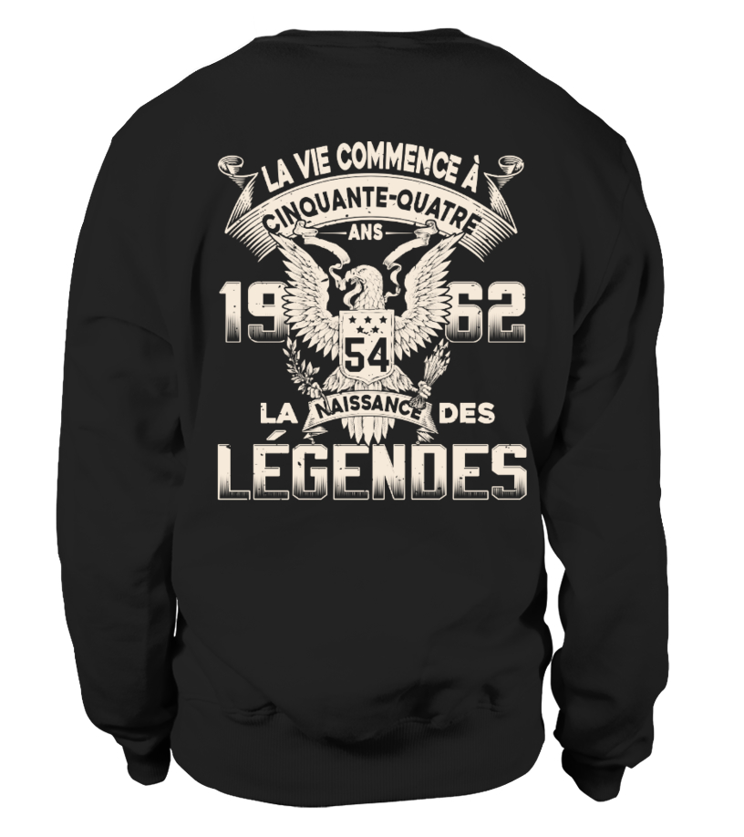 1962 La Naissance Des Légendes