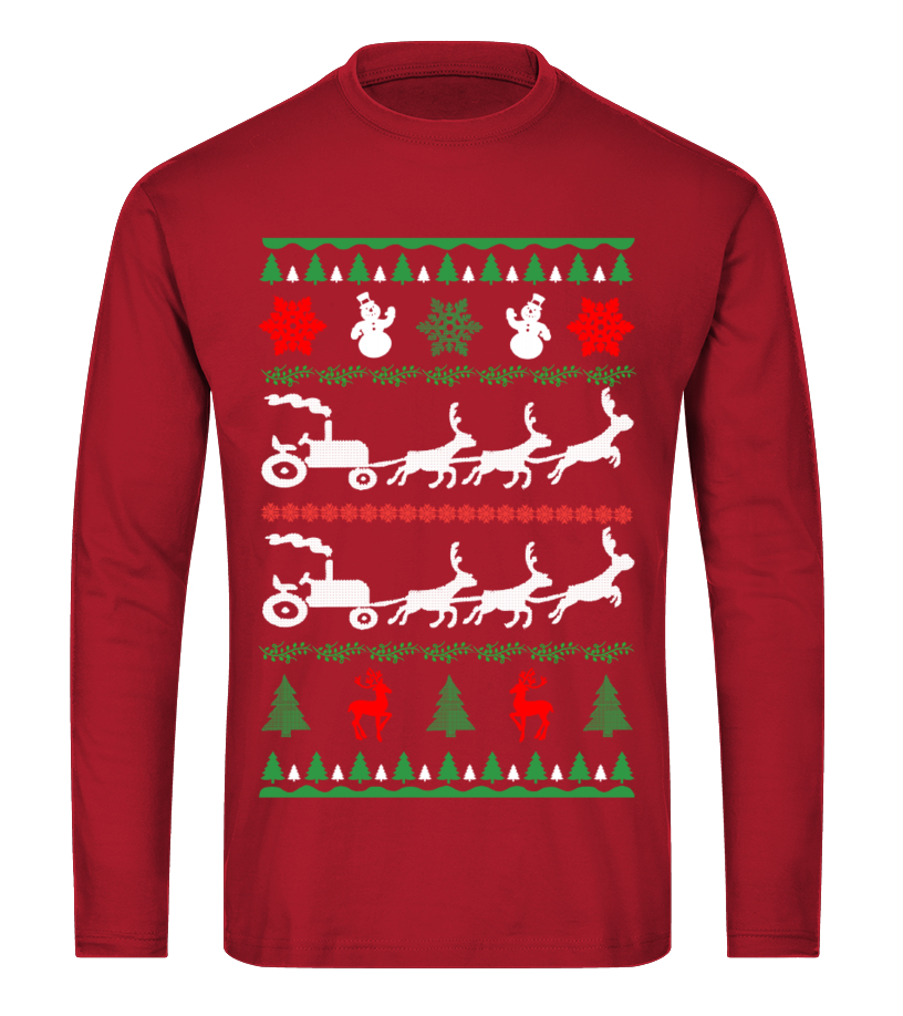 Awesome Christmas - Ltd Edition Farmer Christmas Long sleeved T-shirt Unisex