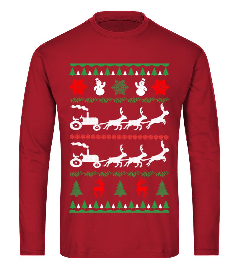Awesome Christmas - Ltd Edition Farmer Christmas Long sleeved T-shirt Unisex