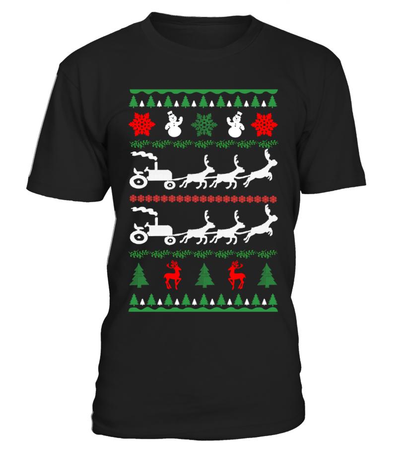 Awesome Christmas - Ltd Edition Farmer Christmas Round neck T-Shirt Unisex