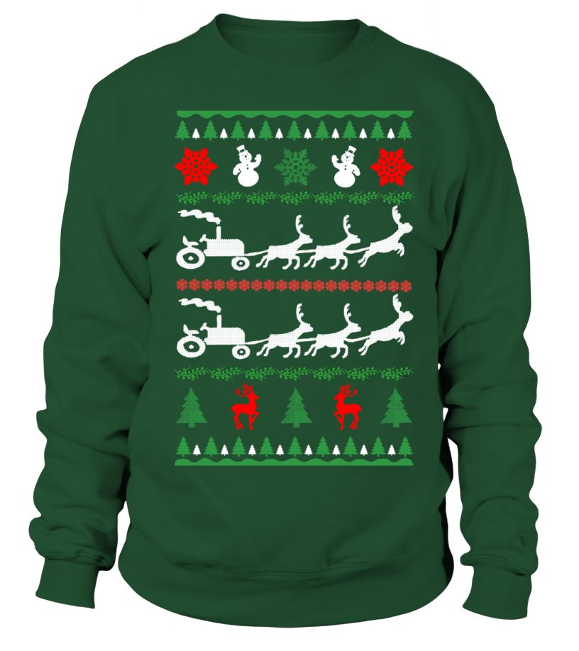 Awesome Christmas - Ltd Edition Farmer Christmas Sweatshirt Unisex