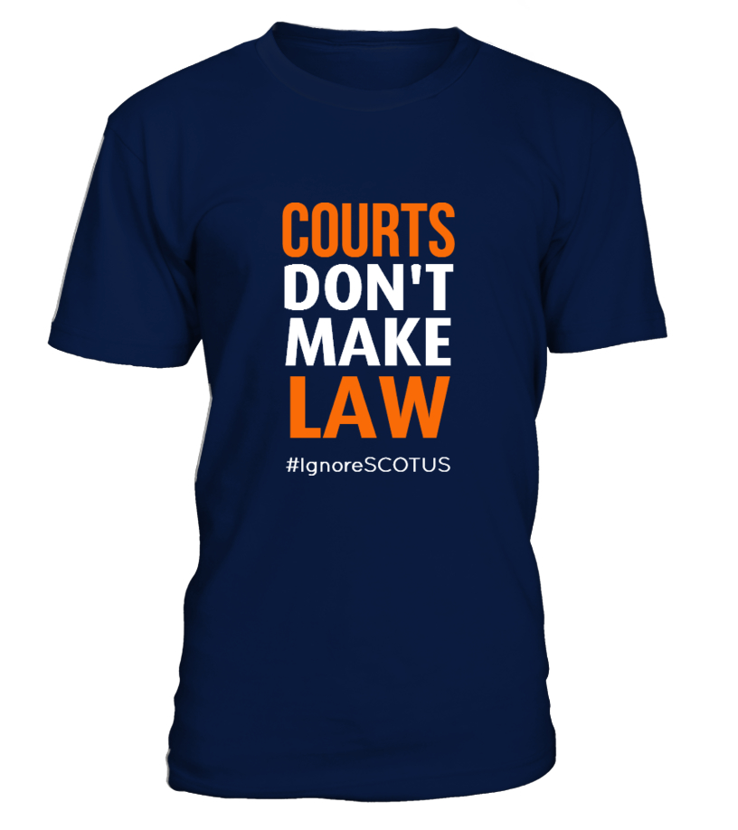 Courts don't make law
