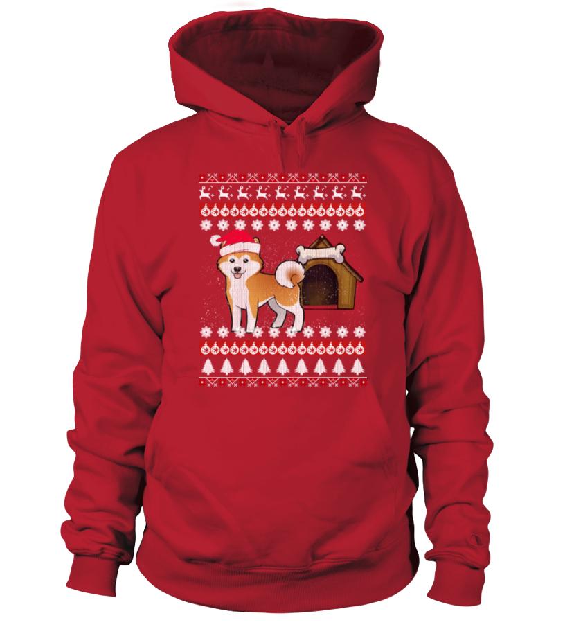 Akita Ugly Christmas Sweaters