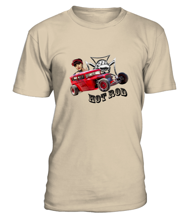 "T-Shirt H/F ""Hot Rod 1b"""
