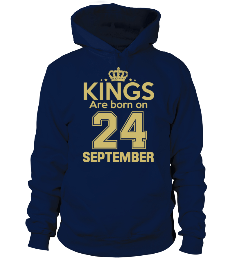 KINGS ARE BORN ON 24 SEPTEMBER